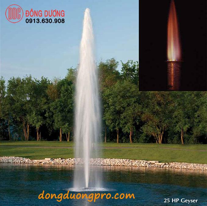 Vòi phun đài phun nước Geyser 25 HP