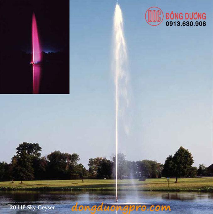 Vòi phun đài phun nước Sky Geuser