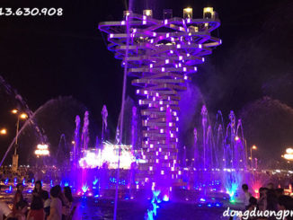 Nhạc nước Vòng Xoay Kiên Giang