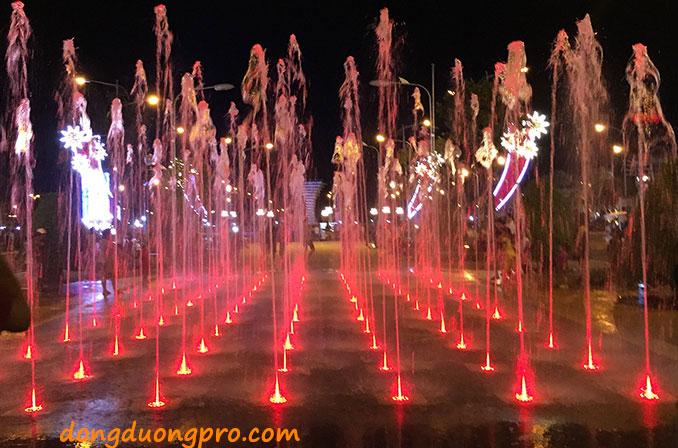 Vòi phun tia Nozzle sử dụng cho sàn phun nước, nhạc nước công viên